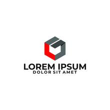 Initial Letter L G Logo Templa...