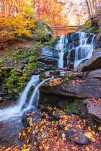 Waterfall Shypot Of Carpathian...