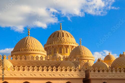 Fasada El Mina Masjid Meczet w Hurghadzie, Egipt