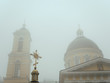 Leinwanddruck Bild - Orthodox Cathedral of Peter and Paul. Gomel, Belarus