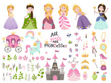 Big Vector Set Of Beautiful Pr...