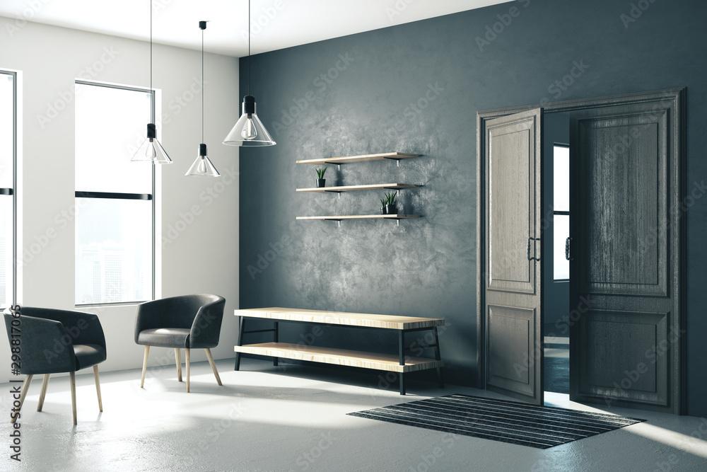 Fototapety, obrazy: Modern hallway interior