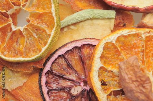 Valokuvatapetti 無添加の日本産の果物を使用したドライフルーツです