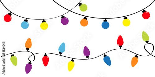 Christmas lights Poster Mural XXL