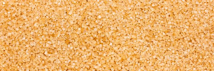 Panorama, Saccharum officinarum background, brown sugar crystals
