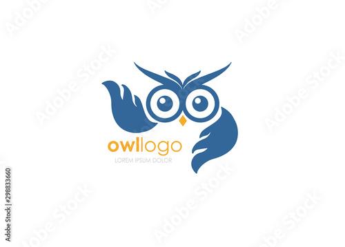 Keuken foto achterwand Uilen cartoon Owl Bird, Infinity Wise, Owl Wise Symbol