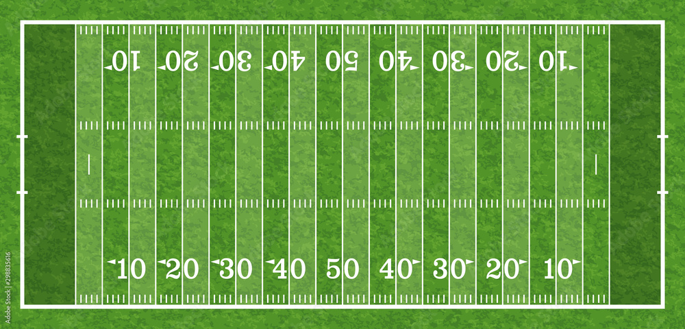 Fototapeta American Football Field