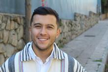 Genuine Young Latin American Male