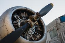 Old Airplane Junkers Ju 52