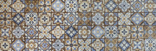 Abstract Ceramic Mosaic Tile P...