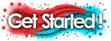 Get Started Word In Stars Colo...