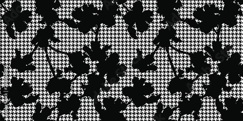 Vector seamless pattern Canvas Print