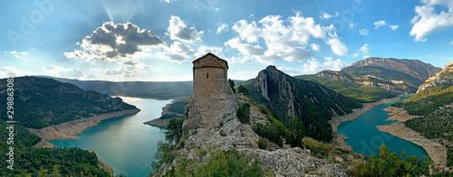 Panoramic of Ermita de la Pertusa