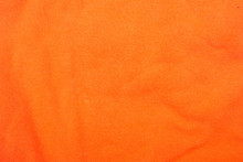 Orange Cotton Fabric Texture B...