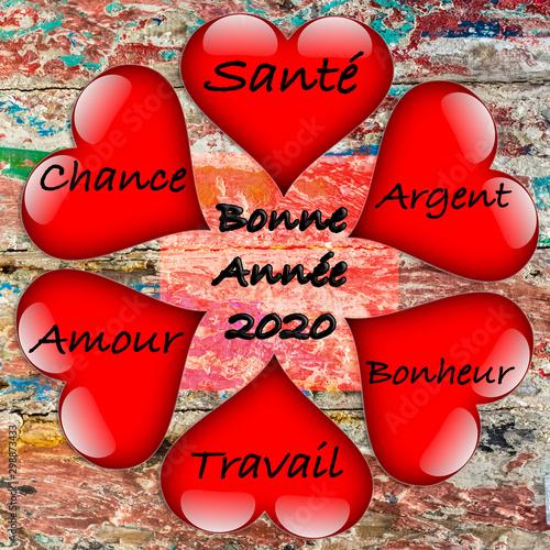 Photo sur Toile Pays d Europe Bonne année 2020