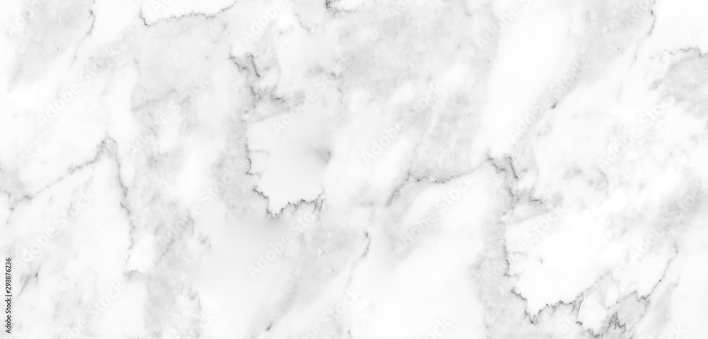 Fototapety, obrazy: Detailed structure of abstract marble black and white(gray). Pattern used for background, interiors, skin tile luxurious design, wallpaper or cover case mobile phone.
