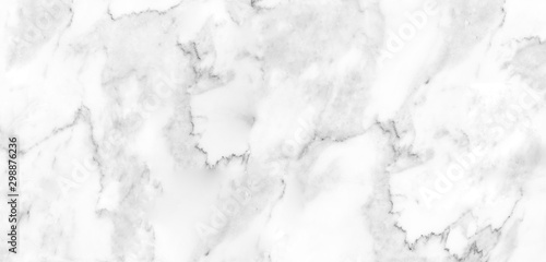 Detailed structure of abstract marble black and white(gray) Fototapet