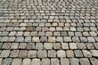Maisons Laffitte; France - may 16 2019 : cobblestones