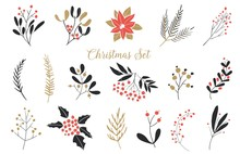 Elegant Christmas Graphic Set....