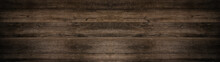 Old Brown Rustic Dark Wooden T...