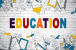 Abstract education background