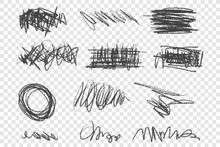 Grunge Scribbles Vector Illust...