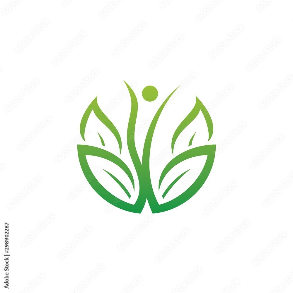 Fototapety, obrazy: eco logo