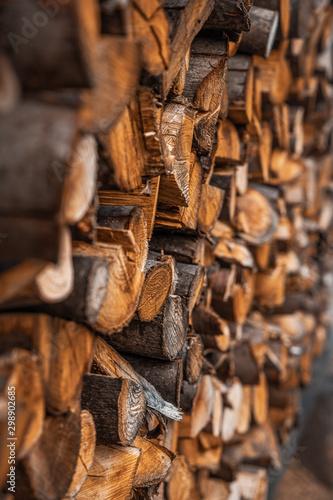Recess Fitting Firewood texture Legno