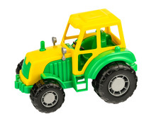 Green Tractor. Toy For Childre...