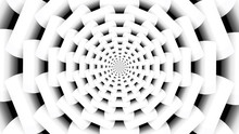 Abstract White Fractal Backgro...
