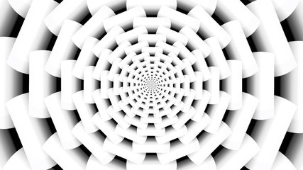 Abstract White Fractal Background 2