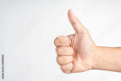 Fotografía  Thumb up hand sign