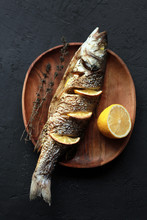 Baked Fish With Lemon And Her...