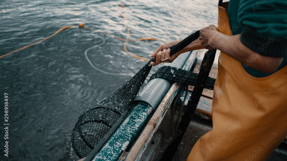 Fototapeta fisherman
