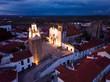 Leinwandbild Motiv Old town Sepra in Portugal