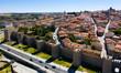 Leinwandbild Motiv Historical center of Avila, Spain