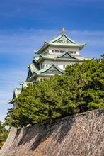 Main Tower Keep And Kinshachi,...