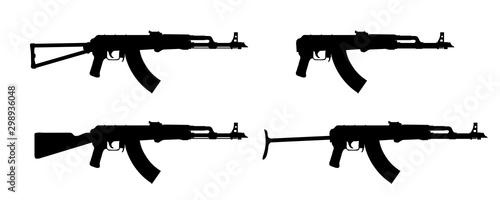 Cuadros en Lienzo Kalashnikov rifle