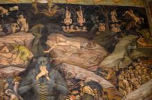 Fresque Intérieure Basilique De San Petronio