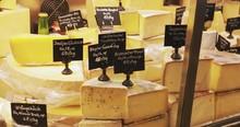 Many Tasty Cheeses On Local Fa...