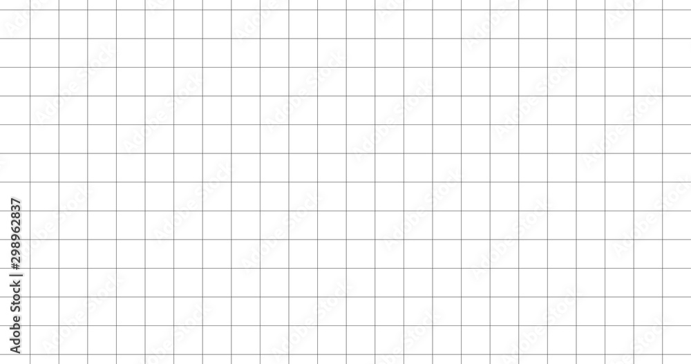 Fototapety, obrazy: Notebook square grid abstract HD paper texture. Vector illustration