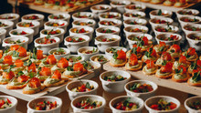 Catering Food Mini Canape In R...