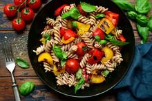 Whole Wheat Fusilli Pasta With...