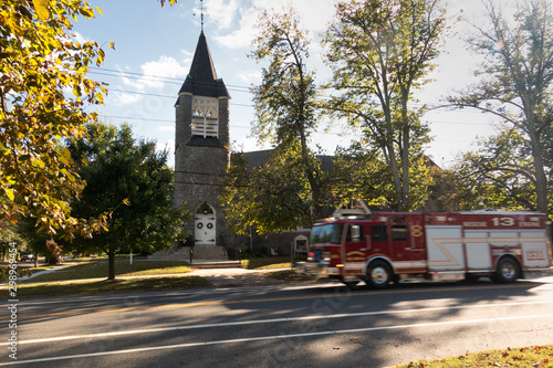 Wenonah Church Fire Engine