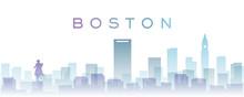 Boston Transparent Layers Grad...