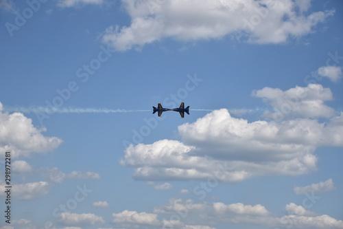 Obraz na plátně  Fighter jets flying