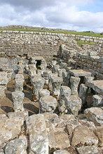 Roman Remains At Housesteads, Northumberland