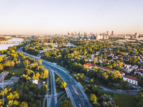 Fototapeta Warszawa Warsaw obraz
