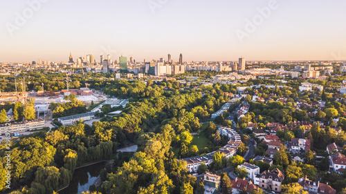Obraz Warszawa Warsaw - fototapety do salonu