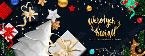 Karty z pozdrowieniami z okazji Świąt Bożego Narodzenia i szczęśliwego nowego roku